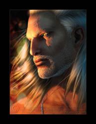 Geralt Of Rivia by Mavrosh