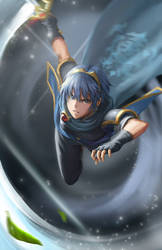 Marth by AthenaWyrm