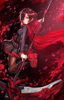 Ruby Rose by AthenaWyrm