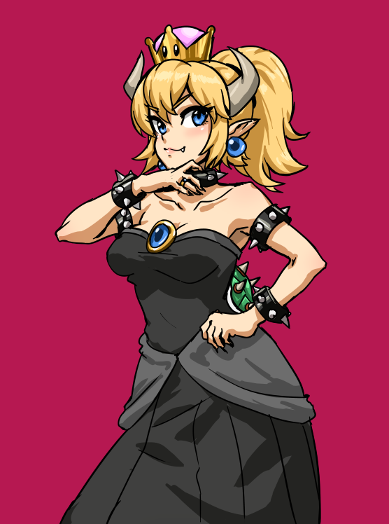 Bowsette by AthenaWyrm
