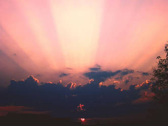 Sky on fire by 40-Eridani