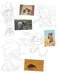 Silly sketches [6] by FinikArt