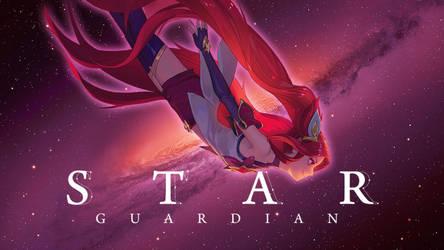 Star Guardian Jinx Wallpaper Desktop By Hardzvixiv On Deviantart