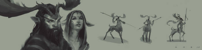 DeerSketches EsbenLash by EsbenLash