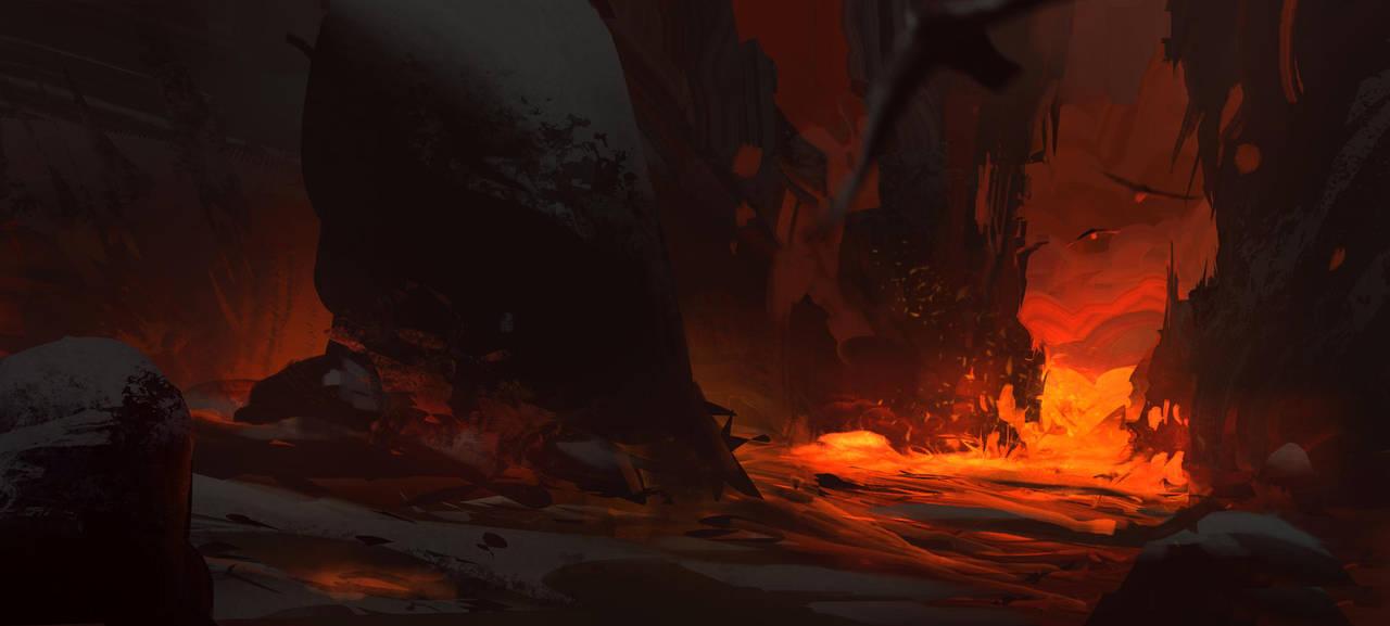Inside the Volcano - 30min by EsbenLash