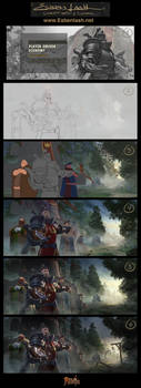 BREAKDOWN - Royal Expeditionary Forces by EsbenLash