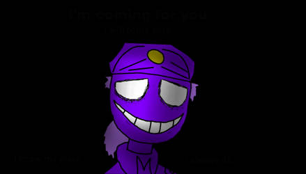 Sketch #2: The Purple Guy (UPDATED) by CaptainShcabula