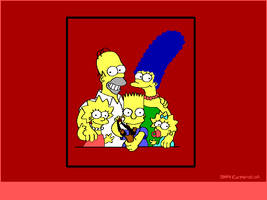 The Simpsons by hmvh