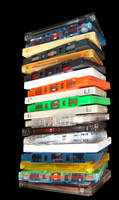 Tape Tower by hmvh