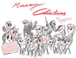 Marry Christmas! by ImpCJCaesar