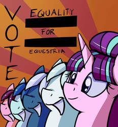 Equality For Equestria by ImpCJCaesar
