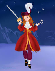 Round 7: Angela as Captain Hook by Arimus79