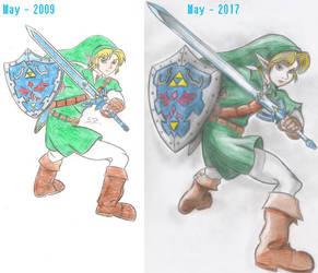 Link - 2009-2017, comparison by SteveOdinson