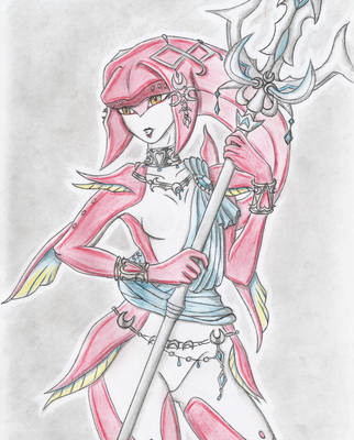 Mipha, Breath of the Wild by SteveOdinson