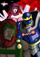 Darkseid's Delegates... by adamantis