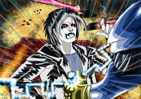 Powergirl : Quantum Quest (25) Lobo Vs Monarch by adamantis