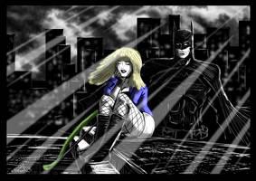 Batman / Black Canary - Broken Arrow by adamantis