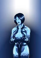 Cortana ( Halo 4 ) by adamantis