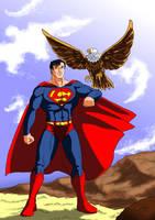 Superman by adamantis