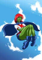 Miss Martian by adamantis