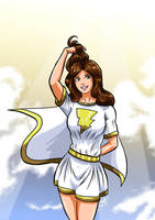 Mary Marvel by adamantis