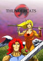 Thundercats - Lion O and Cheetara by adamantis