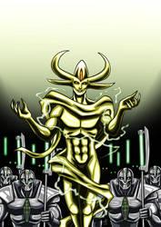 Warhammer 40'000 - Mephet'ran ( The Deceiver ) by adamantis