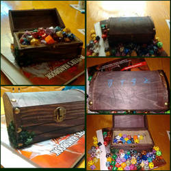 DnD Dice Chest by Polygonine