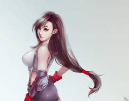 Tifa Fanart by phungdinhdung