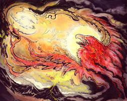 Solar Flare by donnaquinn