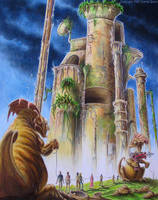 Alien Slavers by donnaquinn