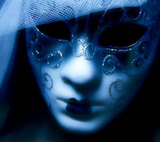 Blue Mask by cho-sa