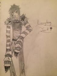 Laughing Jack hand drawn  by CandyFoxyWolf
