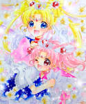sailor moon tibimoon family by kanon-jasumine