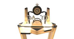 Second Life Export - Prim Modeled - Daz Sign by Fesothe