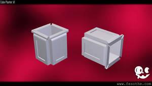 Cube Planter V1 by Fesothe