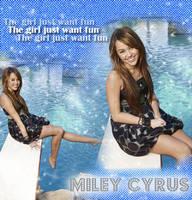 Miley Cyrus by zanessaxash