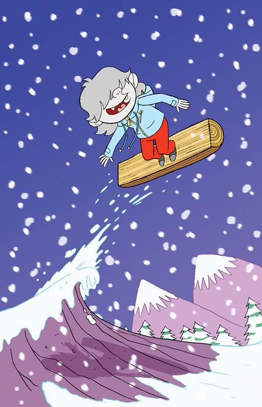 The Abominable Snowboy by yourpalSmitty
