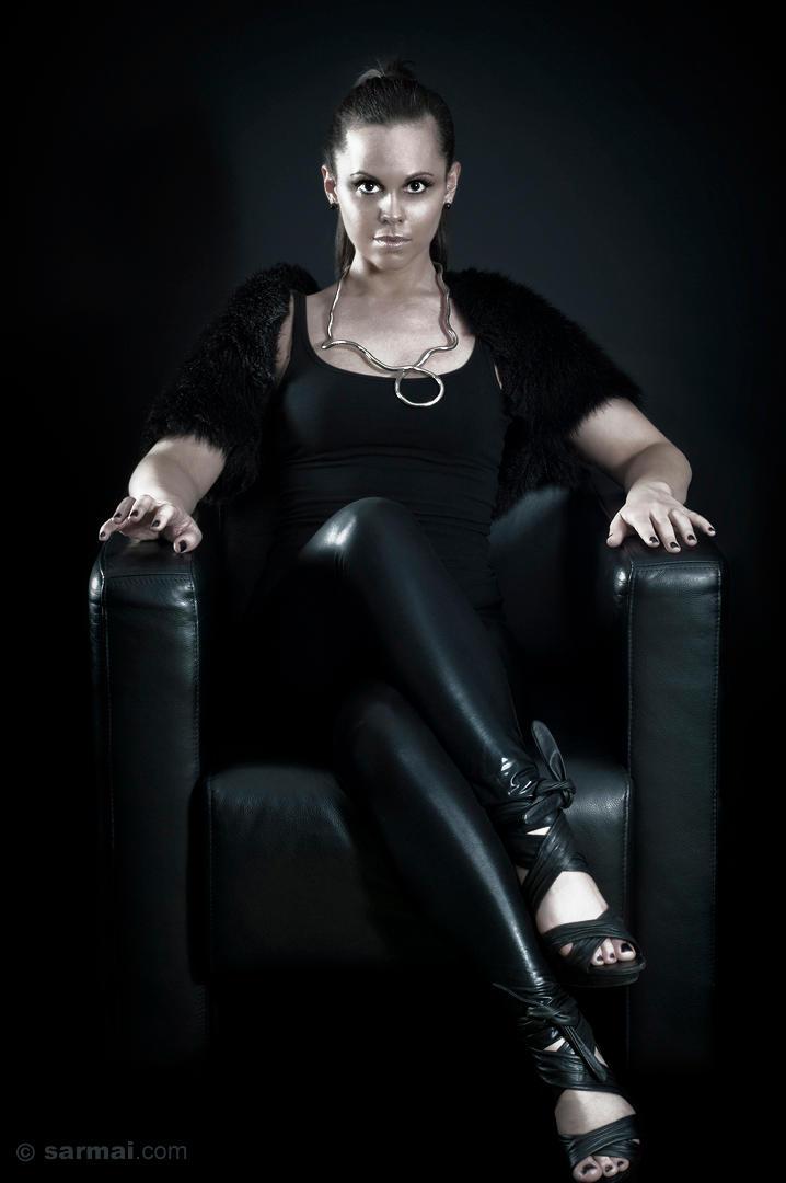 Black Leather Throne 2 by SarmaiBalazs