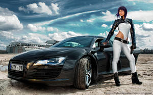 Motoko with R8 by SarmaiBalazs