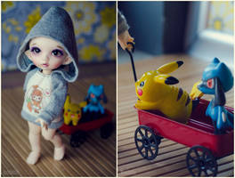 Off to the Pokemon League! by Knibitz