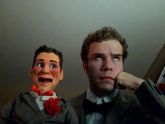 Jimmy O'James and Slappy by joshvirgin