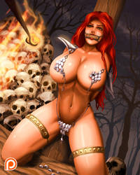 Red Sonja Bound by svoidist