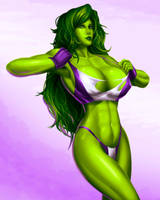She Hulk by svoidist