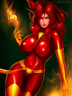 Jean Grey Dark Phoenix by svoidist