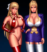Morimoto sisters by svoidist