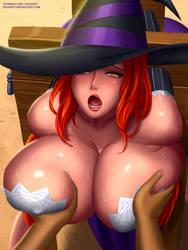 Sorceress groped by svoidist