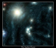 The Aquilas Cluster by Raven-Nevermore