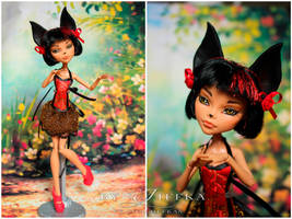 Cleo de Nile Monster High OOAK #23 by Jiffka