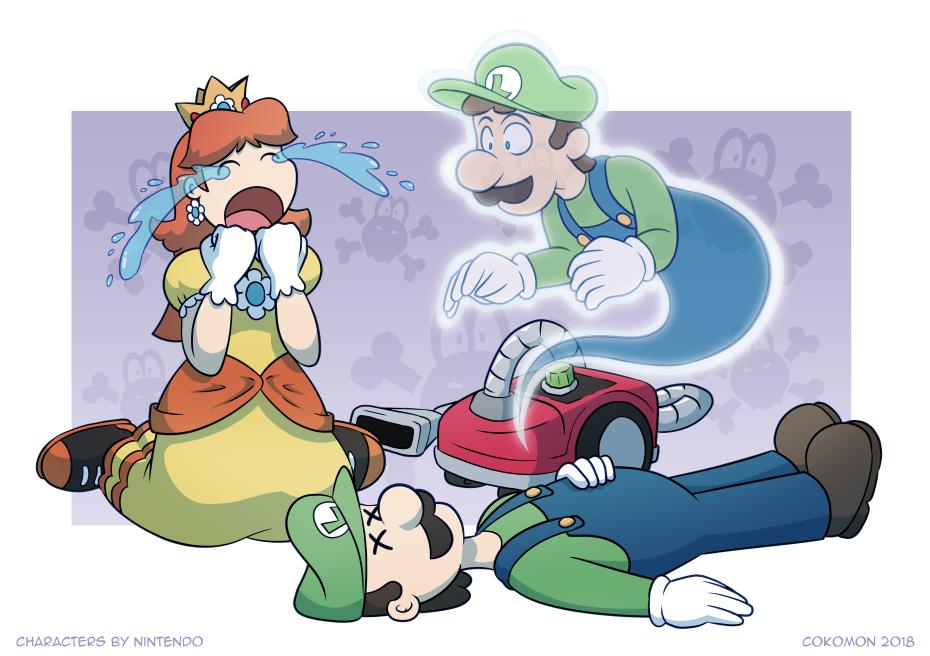 Luigi's Mausoleum by Cokomon
